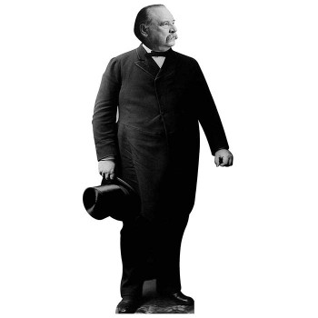Grover Cleveland Cardboard Cutout - $0.00