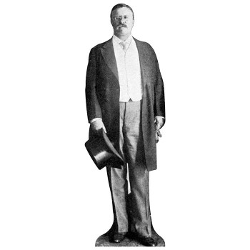 Theodore Roosevelt Cardboard Cutout - $0.00