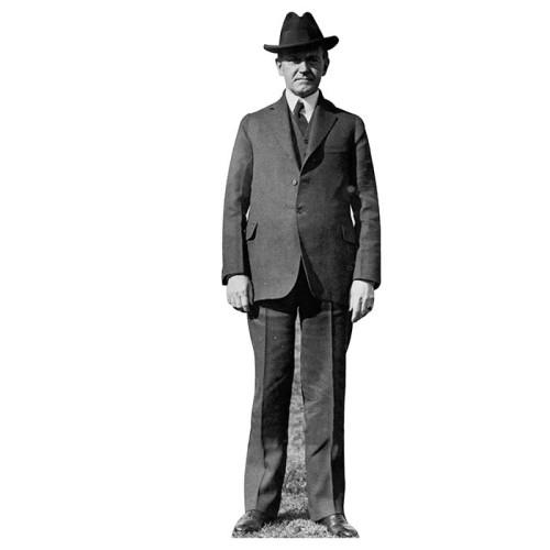 John Calvin Coolidge Cardboard Cutout