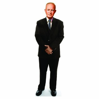 Dwight D. Eisenhower Cardboard Cutout - $0.00