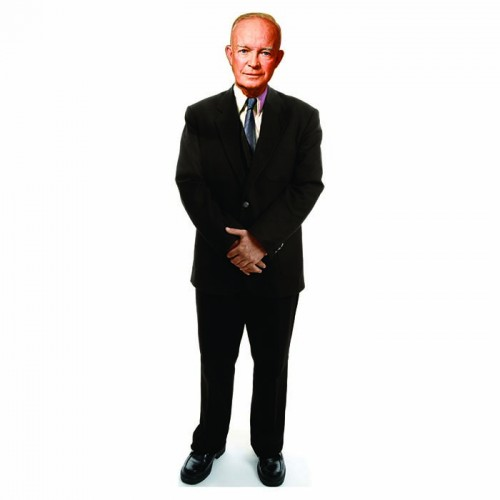 Dwight D. Eisenhower Cardboard Cutout