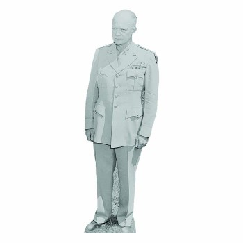 Dwight D Eisenhower 2 Cardboard Cutout - $0.00