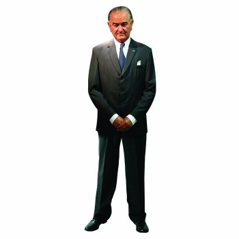 Lyndon Johnson Cardboard Cutout - $0.00