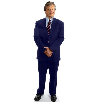 Jimmy Carter Cardboard Cutout - $0.00