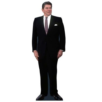 Ronald Reagan Cardboard Cutout - $0.00