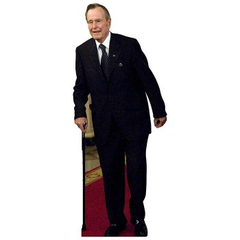 George HW Bush Cardboard Cutout - $0.00