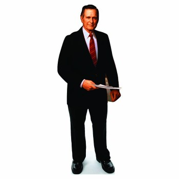 George H. W. Bush Senior Cardboard Cutout - $0.00
