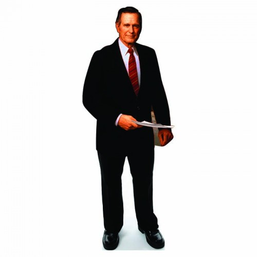 George H. W. Bush Senior Cardboard Cutout