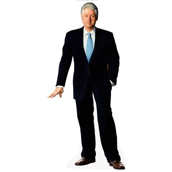 Bill Clinton Cardboard Cutout - $0.00