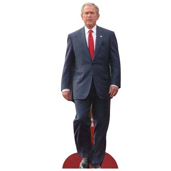 George W Bush Cardboard Cutout - $0.00