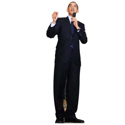 Barack Obama 2 Cardboard Cutout
