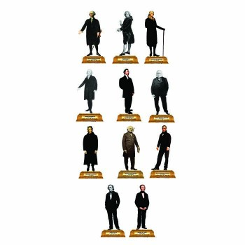 Presidents Group 1 Pedestal Cardboard Cutout - $0.00