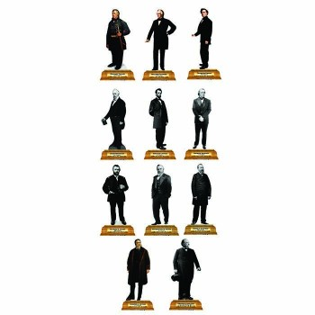 Presidents Group 2 Pedestal Cardboard Cutout - $0.00