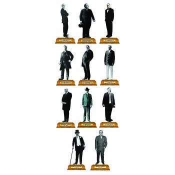 Presidents Group 3 Pedestal Cardboard Cutout - $0.00