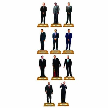 Presidents Group 4 Pedestal Cardboard Cutout - $0.00