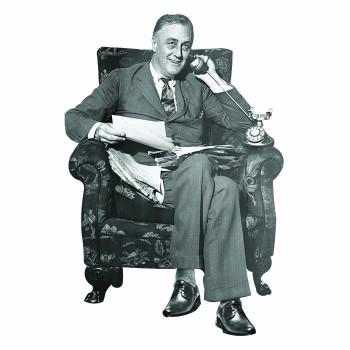 Franklin Delano Roosevelt Cardboard Cutout