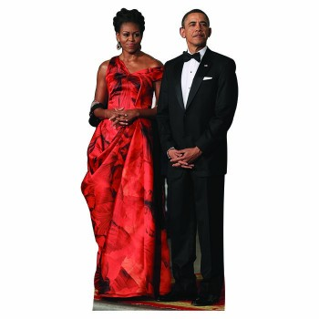 Michelle and Barack Obama Cardboard Cutout - $0.00
