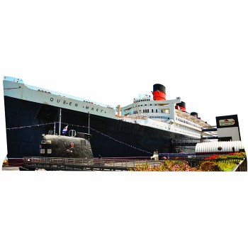 RMS Queen Mary Cardboard Cutout - $0.00