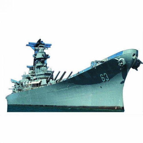 Battleship U.S.S. Missouri Cardboard Cutout