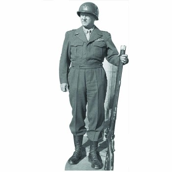 General Patton Cardboard Cutout - $0.00