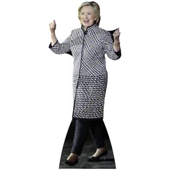 Hillary Clinton Cardboard Cutout - $0.00