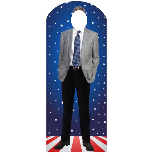 Gary Johnson Stand-In Cardboard Cutout