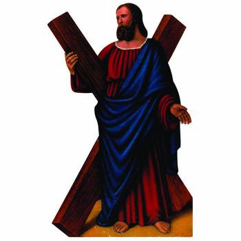 Saint Andrew Cardboard Cutout - $0.00