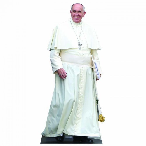 Pope Francis Standing Cardboard Cutout