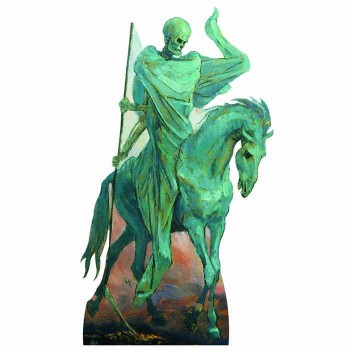 Four Horsemen Pale Death Cardboard Cutout