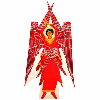 Six Winged Seraphim Cardboard Cutout - $0.00