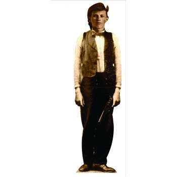 Outlaw Jesse James Cardboard Cutout - $0.00