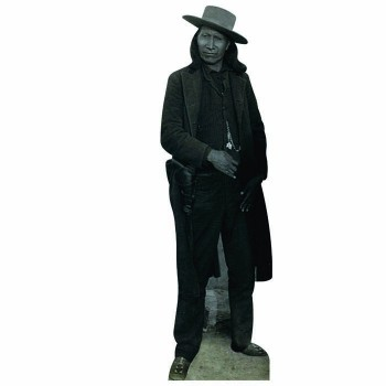 Red Cloud Cardboard Cutout
