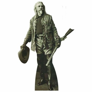 Buffalo Bill Cardboard Cutout