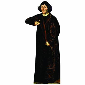 Nicolaus Copernicus Cardboard Cutout - $0.00