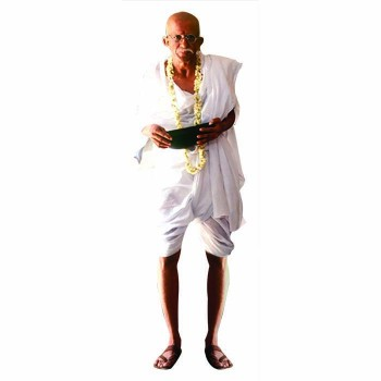 Gandhi Color Cardboard Cutout - $0.00