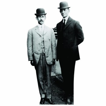 Orville and Wilbur Wright Cardboard Cutout - $0.00