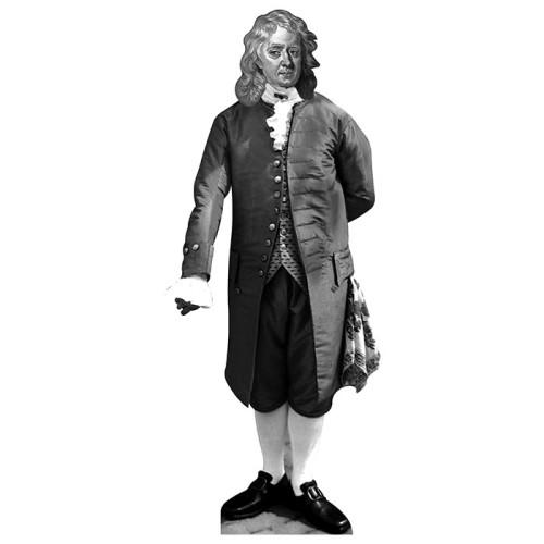 Isaac Newton Cardboard Cutout