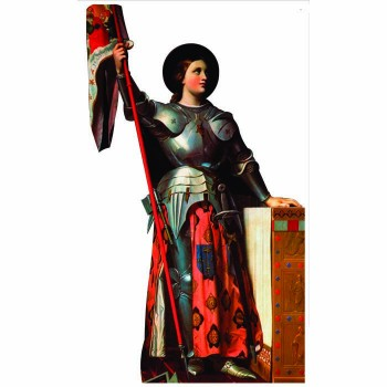 Joan of Arc Cardboard Cutout - $0.00