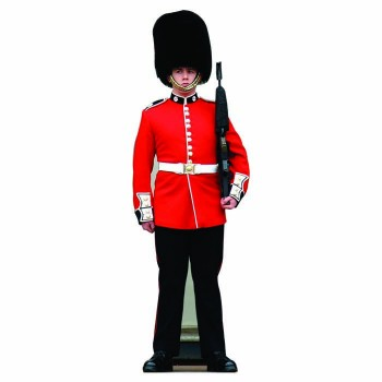 British Palace Guard Cardboard Cutout - $0.00