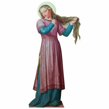 St Catherine of Siena Cardboard Cutout - $0.00