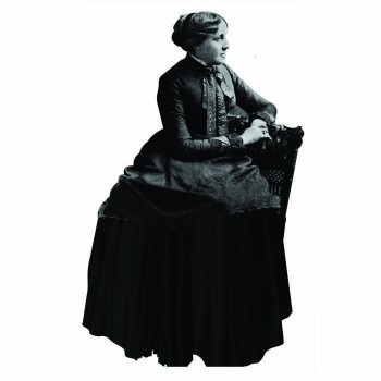 Louisa May Alcott Cardboard Cutout - $0.00