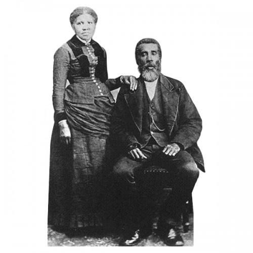 Harriet and John Tubman Cardboard Cutout