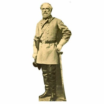 Robert E. Lee Cardboard Cutout - $0.00
