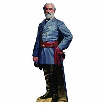 Robert E Lee Color Cardboard Cutout - $0.00