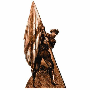 Confederate Soldier & flag Cardboard Cutout