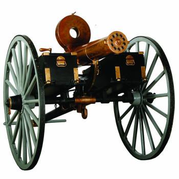 Gatling Gun Cardboard Cutout - $0.00
