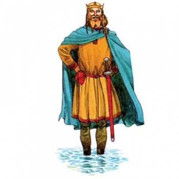 King Canute Cardboard Cutout
