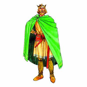 King Edmund I Cardboard Cutout