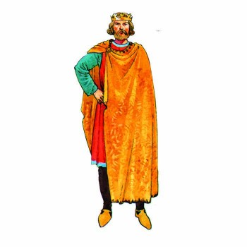 King Edward II Cardboard Cutout