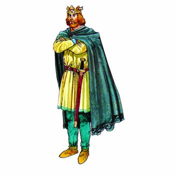 King Edgar Cardboard Cutout - $0.00